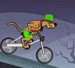 Game hoạt hình Scooby Doo đạp xe