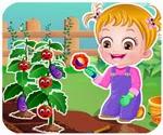 Bé tập làm vườn