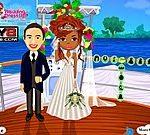 Thời trang cô dâu trên thuyền