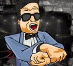 Đấu võ với Gangnam Style
