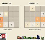 Game 2048 2 người chơi