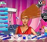 Game cắt tóc Rihanna