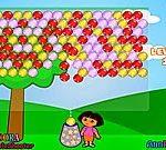 Game Dora bắn bóng