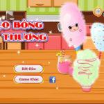 Học làm kẹo bông