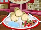 Game làm bánh ngô cuộn trứng