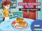 Game làm bánh ngọt Napoleon