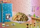 Game nấu ăn xà lách trộn đào