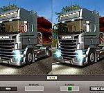 Game tìm điểm khác của xe tải