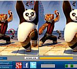 Game tìm điểm khác nhau Kungfu Panda