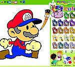 Game tô màu Mario