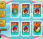 Game trí nhớ Angry Bird