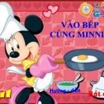 Vào bếp cùng Minnie
