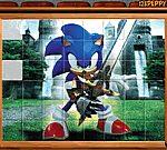 Game xếp hình Sonic