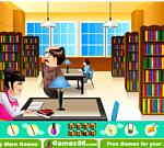 Giết thời gian ở thư viện