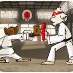 Khỉ tập Karate