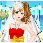 Game lễ cưới trên bãi biển