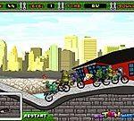 Ninja rùa đua xe