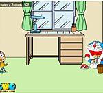Nobita ném giấy