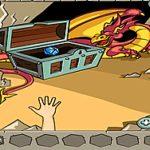 Rồng lửa canh giữ kim cương