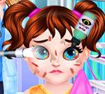 Phẫu thuật mắt cho bé Taylor