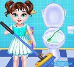 Dọn dẹp nhà cửa Baby Taylor