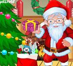 Món quà Giáng sinh Ông già Noel mặc quần áo