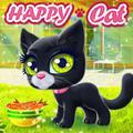 Con mèo hạnh phúc