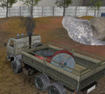 Tài xế xe tải Kamaz của Nga