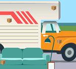 Xe tải chở hàng ẩn